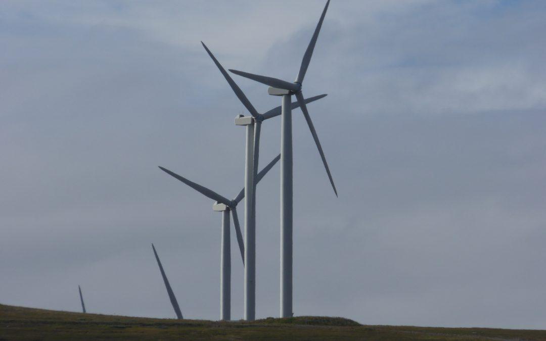 Strekklappmåling vindmølle