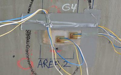 Strekklappmåling på trykktank